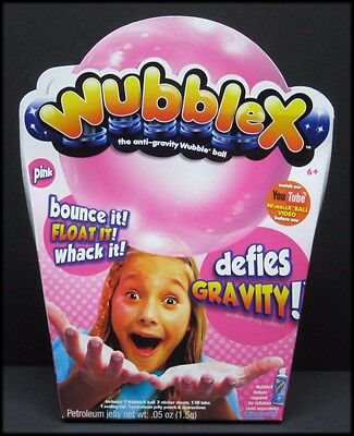 Pink WubbleX Wubble Ball Anti-Gravity Defies Gravity Indoor Play Ages 6+ NEW
