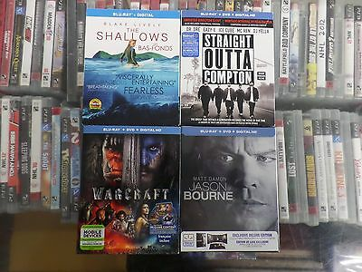 New Release Blu Ray Lot