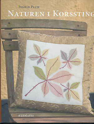 Danish- Cross Stitch In The Nature By Ingrid Plum