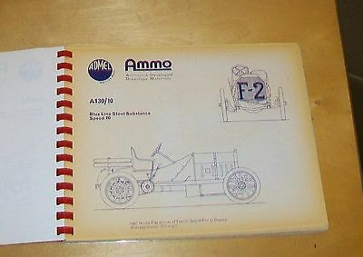 Admel Racing & Sports Cars Line Drawings 1894 - 1935 Rex Hays Griffin  (37) 1965
