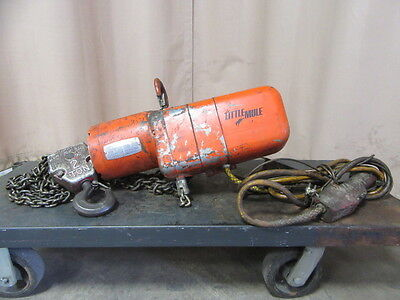 Used Little Mule 2 Ton Electric Chain Hois