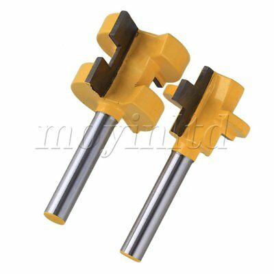 1/4Inch Shank Tongue and Groove Router Bit Set of 2
