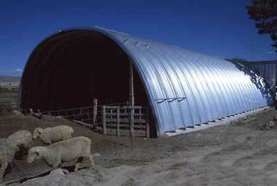 Arch style steel building/shelter