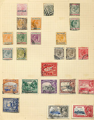 CYPRUS QV/QE Mint&Used Collection(Approx 120 Items) (A59)