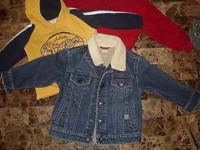 Baby Gap Jean Jacket Coat For A Toddler Size 3t and sweatshirts