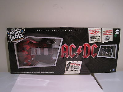 Paper Jamz AC/DC Special Edition Guitar With Strap And Bonus Songs New