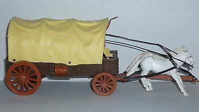 Vintage TIMPO wild west covered wagon in 1.32nd scale