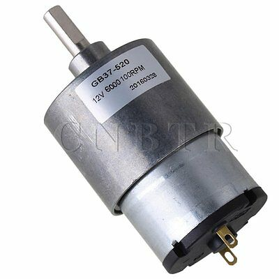 DC12V 100RPM Mini Direct-current Geared Motors