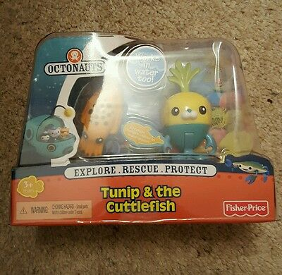 Octonauts Figure And Creature Pack Tunip And The Cuttlefish brand new
