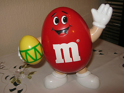 """M&m M&ms Happy Red 7""""  With Easteregg"""