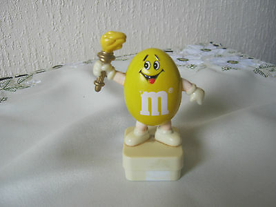 M&m M&ms Happy Yellow Olympic Torch Topper