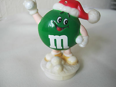 M&ms Happy Green Round Snowball Topper