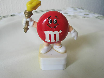 M&m M&ms Happy Red Olympic Torch Topper