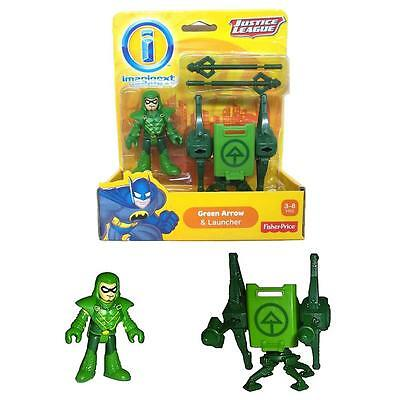 Imaginext Justice League: Green Arrow & Launcher Target Fisher-Price Toy CHOP