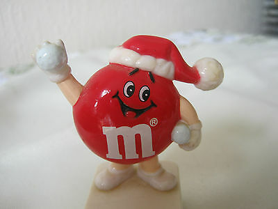 M&m M&ms Happy Red Snowballer Topper Square Base