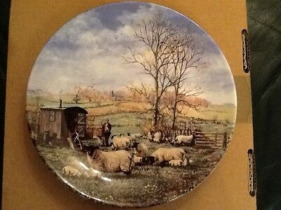 Wedgewood collectors plate by Danbury Mint 'Lambing'