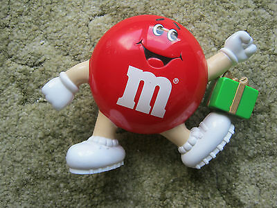 """M&m M&ms Happy Red 6"""" With Green Parcel"""