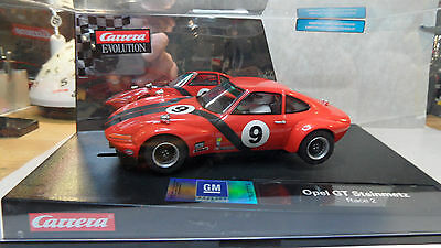 Carrera Opel GT Steinmetz Race 2 - New Mint Condition - Extremely Rare