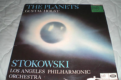 The Planets Gustav Holst Los Angeles Philharmonic Orchestra  Lp Record