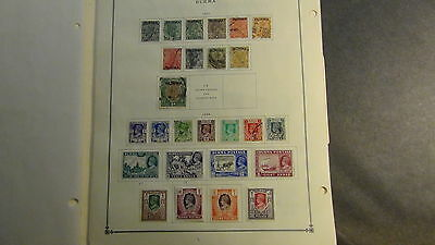 Burma stamp collection on Scott International  pages to '76 or so
