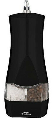 Trudeau Duo Battery Salt and Pepper Mill - Black