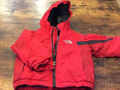 Toddler Boys Northface winter hooded coat 2T