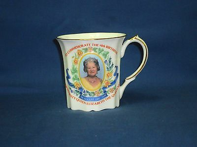 Ringtons tea Queen Mothers 90th birthday commemorative china cup mug