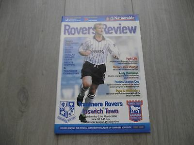 1999-2000   Tranmere v Ipswich  -  Division One