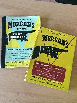 Vintage Morgans Street Directorie 39th & 40th Edition Hard cover