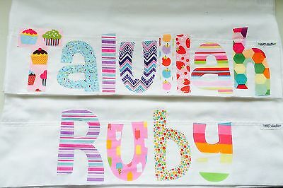 Personalised Gift Children's Appliqued Pillowcase
