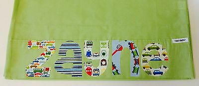 Personalised Gift Children's Appliqued Pillowcase Lime Green
