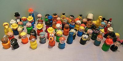 Huge Lot of Fisher Price People