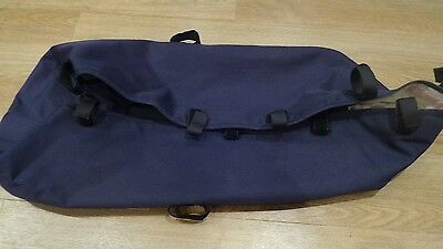 Bugaboo Frog  Carrycot/Bassinet Fabric in  Navy Blue Excellent Condition
