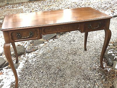 French Style Bureau Plat Desk Baker Milling Road Furniture Writing Desk