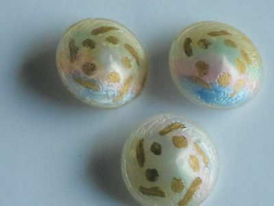 Glass Dome  Buttons