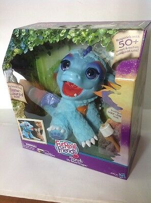 Furreal Friends Torch, My Blazin' Dragon Toy Dragon Roasts Marshmallows NEW