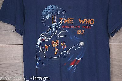 Vintage The Who American Tour '82