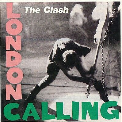 The Clash London Calling (remaster) RARE promo sticker '04