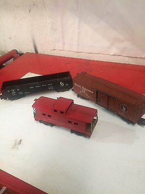 Vintage S Scale Train Cars Nice Condition