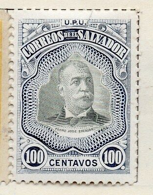 El Salvador 1906 Early Issue Fine Mint Hinged 100c. 120988
