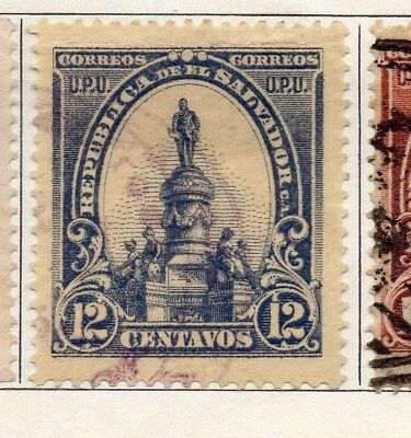 El Salvador 1903 Early Issue Fine Used 12c. 121005
