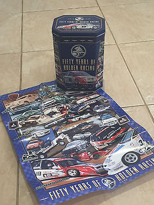 Fifty Years Of Holden Racing 1948-1998 - 1000 Jigsaw Puzzle In Original Tin