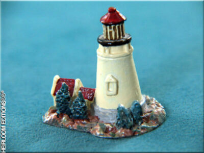 PEWTER LIGHTHOUSE THIMBLE ,hp