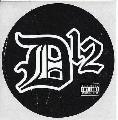 D12 Devil's Night RARE promo sticker '01