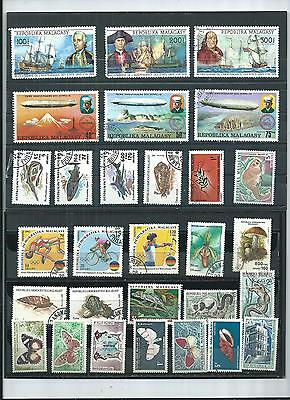 Malagasy.  Selection Of 29. Cancelled To Order. As Per Scan