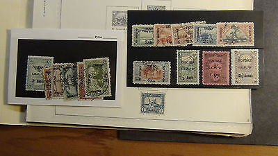 Iraq stamp collection on Scott International  & Various pages to '80 or so