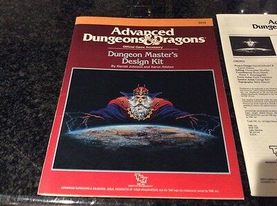 Advanced D &D DUNGEON MASTER'S KIT