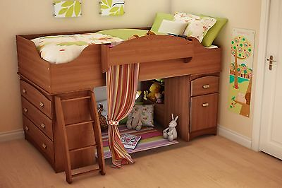 South Shore Furniture Loft Bed Imagine Collection Morgan cherry