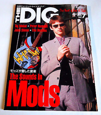 MODS THE DIG Japan Magazine 1996 No.7 Jam Who Small Faces Taj Mahal Peter Hammil