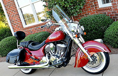2014 Indian Chief    Indian Chief, Excellent Condition, Leather Bags,111 Engine, 43 Large Photos